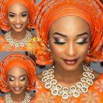Latest Purple African Beads <b>Jewelry</b> Set Gold <b>Jewelry</b> <b>Accessory</b> Necklace Set Nigerian Beads QW1227