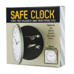 8 inches wall clock safe clock safe <b>Jewelry</b> Creative wall clock Clock Hidden Safe