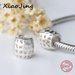 Aliexpress 925 silver color original <b>Antique</b> charms Beads Fit Authentic pandora bracelets fashion <b>jewelry</b> making women Gifts