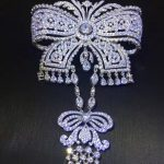 <b>antique</b> victoria 925 sterling silver with cubic zircon bowknot brooch pins fashion women <b>jewelry</b> brooch for coat or skirt