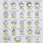 100Pcs Crystal Nail Alloy Nageldesign Rhinestones Alloy 3D Decorations Charms For Nail <b>Jewelry</b> Manicure #YRE435 <b>ART</b> <b>Deco</b>