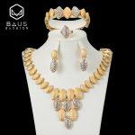 BAUS Fashion High quality dubai <b>jewelry</b> sets nigerian bridal Imitated crystal beads <b>Jewelry</b> set Wedding Party Bridal <b>Accessories</b>