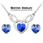 New Design Luxury Elegant <b>Jewelry</b> Sets Earrings Necklaces Pendants For Women Crystals from Swarovski Wedding <b>Accessories</b>