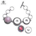 Private custom DIY fashion <b>accessories</b> 12mm 16mm 18mm 20mm Snaps Bracelet Snap <b>Jewelry</b>