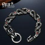Cool Dragon Bracelet Stainless Steel Punk Biker <b>Accessories</b> Men's <b>Jewelry</b> BC8-017