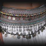 2018 Professional Tribal Ats Belly Dance <b>Jewelry</b> Hip Belt Adjustable Fit <b>Antique</b> Bronze Beads Metal Chain Gypsy Dance Coins Belt