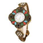 <b>Antique</b> Quartz Wristwatch Women's Bracelet Watches Top Brand Luxury Lady Dress Watches Vintage Crystal <b>Jewelry</b> Clock Reloj Mujer