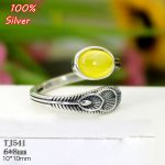 100% Sterling 925 Silver Open Ring Blan <b>Jewelry</b> for Women 6*8mm Peacock Feather Blank <b>Antique</b> Silver Free shipping
