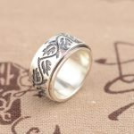 S925 sterling silver ring silver <b>jewelry</b> wholesale <b>antique</b> style <b>jewelry</b> lovers transfer ring