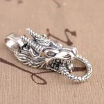 Deer King <b>jewelry</b> wholesale silver S925 Sterling Silver Pendant pendant <b>antique</b> style faucet Mens Gift