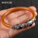 BOEYCJR Natural Vine Bangles & Bracelets <b>Handmade</b> <b>Jewelry</b> Tibetan Silver Charms Vintage Ethnic Bangle For Women Gift 2018