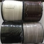 3mm Suede Flat Leather Cord Rainbow Color Faux Velvet Cords Rope Thread String Necklace DIY Handmade Jewerly <b>Making</b> 100m/lap