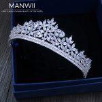 Cubic Zirconia Tiaras And Crowns Headmade Bride <b>Wedding</b> Hair Accessories For Women Princess Trendy <b>Jewelry</b> HA20001