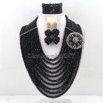 <b>Handmade</b> Indian African Wedding <b>Jewelry</b> Sets Nigerian Beaded Wedding Bridal Necklace <b>Jewelry</b> Sets Free Shipping HD6729