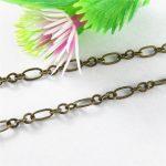 Wholesale <b>Jewelry</b> Material 1m Per Lot Italian Snake Chain Fit <b>Jewelry</b> Making <b>Antique</b> Bronze Plated Metal Zinc Alloy Accessory