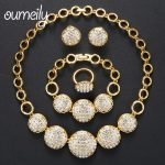 OUMEILY <b>Jewelry</b> Sets Statement Choker Indian African Beads <b>Jewelry</b> Set for Women Habesha <b>Jewelry</b> Sets Dubai Gold Color Jewellery