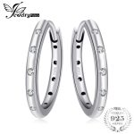 Jewelrypalace 925 Sterling Silver Waterdrop Women Hoop Earrings 2018 <b>Fashion</b> Sterling silver Earring For Women <b>Jewelry</b>