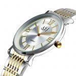women watches quartz thin fashion ASJ brand stainless steel woman wristwatches waterproof casual female clocks gold <b>silver</b>
