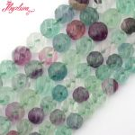 8,10mm Round Carved Multicolor Fluorite Natural Stone Beads For DIY Necklace Bracelets Woman <b>Jewelry</b> <b>Making</b> 15″ Free Shipping