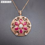 Natural Red Ruby <b>Necklace</b> Genuine Gem Pendant Precious Stone Woman Fine Jewelry Solid 925 Sterling <b>Silver</b> Lady's Luxury