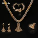 Vintage Ethnic Chandelier Dangle Pendant Tassel Necklace Earrings <b>Jewelry</b> Sets for Women <b>Handmade</b> Bohemian Pendant <b>Jewelry</b>