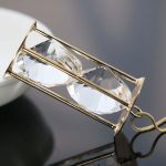 Gold-Color Silver Cylinder Crystal Necklace For Women Lover`s Gift Necklace Sweater Chain Natural Fashion <b>Jewelry</b> <b>Making</b> Design