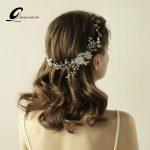Gold/ <b>Silver</b> Hair Comb Bridal Tiara Wedding Hair Accessories Bridal Hair Combs Headbands Headpiece Ornament Party Hair <b>Jewelry</b>