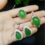 Natural Stone Gem Jade <b>Earrings</b> 925 Sterling <b>Silver</b> Drop <b>Earrings</b> Women Jewelry Vintage <b>Earrings</b> ring Necklace