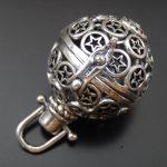 1pcs <b>Antique</b> Silver Hollow Mini Pentagram Necklace Fragrance Essential Oil Aromatherapy Diffuser <b>Jewelry</b> Charm Pendant Necklace