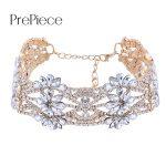 Prepiece Fasgion Luxury CZ Crystal Choker Necklace Women Clothing <b>Accessories</b> Party Wedding <b>Jewelry</b> Gifts for Girls Colar PN1084