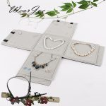 Multi-functional <b>Jewelry</b> Set Carrying Foldable Bag Ring Earring Pendant <b>Necklace</b> Chain Storage Roll Bag Travel Package Organizer