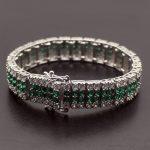 "Fashion Gift Shiny Beauty Xmas <b>Jewelry</b> 925 Sterling Silver Bracelet 7"" <b>Wedding</b> Holiday Party Shows Bracelets"