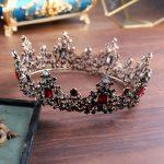 Vintage Baroque Queen King Bride Tiara Crown For Women Headdress Prom Bridal <b>Wedding</b> Tiaras and Hair <b>Jewelry</b> Accessory Hot HQ-38