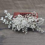 Luxurious Crystal <b>Wedding</b> Bridal Hair clips pins Women Rhinestone Bride Hair Combs Hair Ornaments Head <b>Jewelry</b> Accessories