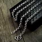 S925 <b>silver</b> necklace of pearls manually sweater chain <b>bracelet</b> chain female <b>silver</b> male Collarbone chain wholesale