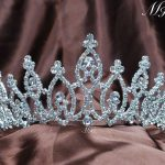 Sparkling Wedding Tiaras Diadem Clear Austrian Rhinestone Crowns Girl Headband Prom Party Beauty Pageant Women Hair <b>Jewelry</b>