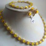Wholesale price 16new ^^^^white/green/yellow/blue opal/stone/stone necklace <b>bracelet</b> ring EARRS