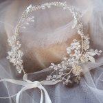 Dower me Fashion Silver Leaf Bridal Hair Vine Crystal Hair <b>Jewelry</b> Accessories For Women Party Prom <b>Wedding</b> Tiara Headband