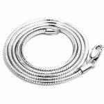 collier silver 925 <b>jewelry</b> <b>necklaces</b> men <b>necklace</b> chocker <b>necklace</b> silver chains 2mm