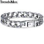 Trendsmax <b>Fashion</b> New Stainless Steel Charm Bracelet Men Vintage Totem Mens Bracelets 2018 Cool Male Wristband <b>Jewelry</b> HB30