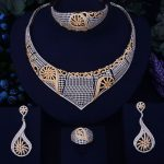 GODKI Luxury Conch Design Gold <b>Silver</b> Mixed Women Nigerian Wedding Naija Bride Cubic Zirconia Necklace Dubai 4PCS Jewelry Set