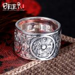 Beier 925 silver sterling 2015 four animal ring vintage personality fashion <b>accessories</b> opening ring unisex <b>jewelry</b> BR925K003