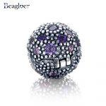 Beagloer 925 Sterling Silver Cosmic Stars Clip Charm Beads Fit <b>Handmade</b> Bracelet Pendant Authentic Luxury Women <b>Jewelry</b> PSMB0256