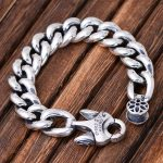 15mm Wide 925 Sterling <b>Silver</b> Vintage Thai Wide Heavy Retro Men Male Jewelry Link Chain Cherry Blossoms <b>Bracelets</b> CH059085