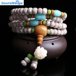Wholesale Hainan Xingyue Natural Bodhi <b>Bracelets</b> 108 Buddha Bead Necklace Lucky For Women Men Sweater Chain Yoga Energy Jewelry