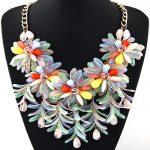Statement <b>Necklace</b> Fashion Women 2018 Luxury Big Brand Gold Chain Crystal Flowers Long <b>Necklaces</b> & Pendants <b>Jewelry</b> Bijoux