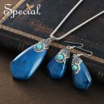 Special Brand Fashion 925 <b>Sterling</b> <b>Silver</b> Necklaces & Earrings Set Natural Stones Maxi Necklace <b>Jewelry</b> Gifts for Women S1655N