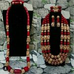 Big Luxury Real Coral Beads <b>Wedding</b> <b>Jewelry</b> Sets Wine Red African Coral Bridal Couple <b>Jewelry</b> Sets for Bride and Groom ABH711