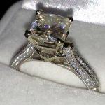 <b>Handmade</b> Women Fashion 925 Sterling silver rings 7mm Diamonique AAAAA Cz Engagement wedding band ring for women <b>jewelry</b>