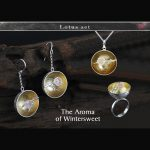 Lotus Fun Real 925 Sterling <b>Silver</b> Natural Handmade Fine Jewelry Flower The Aroma of Wintersweet Jewelry Set for Women Bijoux